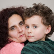Mother and son embracing — Stock Photo #2277833