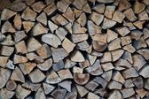 Stack of logs — Stock Photo