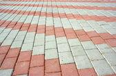 Pavement with pattern — Stock Photo