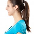 Brunette with ponytail — Stock Photo #2280979