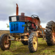 Vintage tractor - Stock Photo