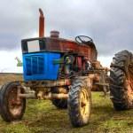Vintage tractor — Stock Photo #2416623