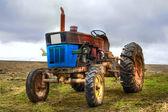 Vintage traktör — Stok fotoğraf