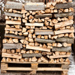 Stack of firewood - Foto de Stock