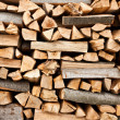 Stack of firewood — Stock Photo #2486711