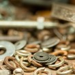 Rusty nuts and bolts - Foto de Stock  