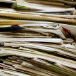 Stack of old newspapers — Stock Photo #2504381