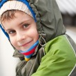 Cute kid outdoor — Stock Photo