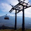 Stock Photo: Chair-lift in TatrMountains