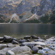 Stock Photo: Lake in polish Tatrmountains