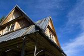 Old traditional house in Zakopane — Stock Photo
