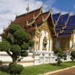 Buddhist temple in Thailand — стоковое фото #2219496