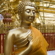 Buddhist temple in Thailand — Stockfoto