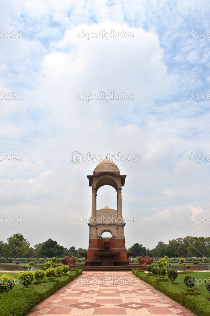 India Gate with blue sky  — Stock Photo #2243769