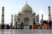 Taj Mahal mausoleum — Stock Photo