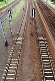 Railway track — Stock Photo