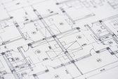 архитектура планы — Стоковое фото