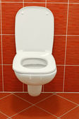 White toilet — Stock Photo