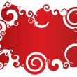 Abstract Red Background — Image vectorielle