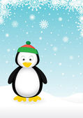 Cute Penguin — Vector de stock