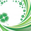 Saint patrick's background — Imagen vectorial