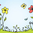 Stockvektor : Spring Background