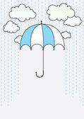 Rain — Stockvektor