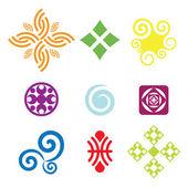 Vektor symboler — Stockvektor