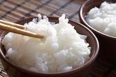 тайский рис пропаренный — Стоковое фото