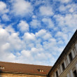 Arquitectural detail of Prague Castle — Stock Photo