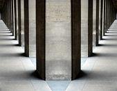 Columns vanishing points — Stock Photo
