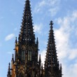 Gothic church towers — Stock Photo #2056249