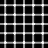 Optical art series: Grid — Stock Vector
