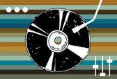 Fond de musique disco. — Vecteur