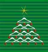 Fashion Christmas Tree — Stock Vector
