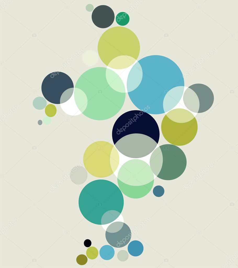 Fresh bubbles background. Vector available — Stock Vector #2124261