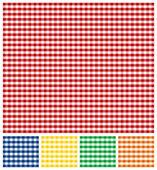 Picnic Tablecloth Texture — Stock Vector