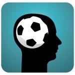Soccer ball brains — Stock Vector