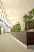 Flughafen-korridor — Stockfoto