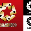 Casino logo — Stock Vector