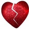 Red heart — Stockfoto