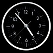 Stock Photo: Clock face