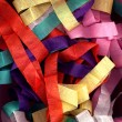Stock Photo: Paper streamers