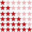 Red stars — Stock Photo