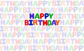 Happy birthday — Foto de Stock