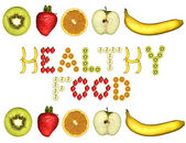 Healthy food — Stockfoto