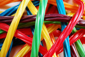 Colorful licorice candy — Stock Photo