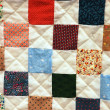 Stock Photo: Patchwork quilt