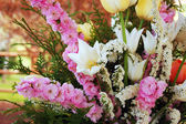Fresh spring bouquet — Stock Photo