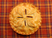 Fresh apple pie — Stock Photo